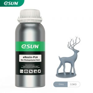 eSun Resin PLA Bio-Based LCD Grey 0.5KG