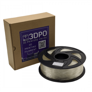 3DPO PLA+ Filament Transparent 1kg 1.75mm