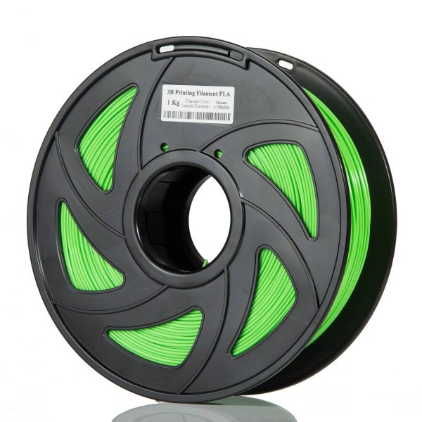 Green TPU scaled 3DPO PLA+ Filament (GREEN) 1KG 1.75MM