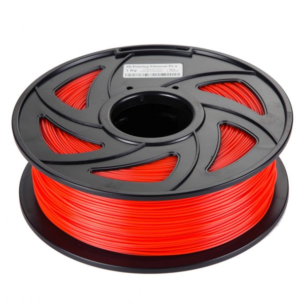 Red TPU scaled 3DPO FLEXIBLE TPU Filament (RED) 1KG 1.75MM