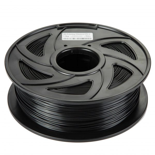 Black ABS scaled 3DPO ABS Filament (BLACK) 1KG 1.75MM