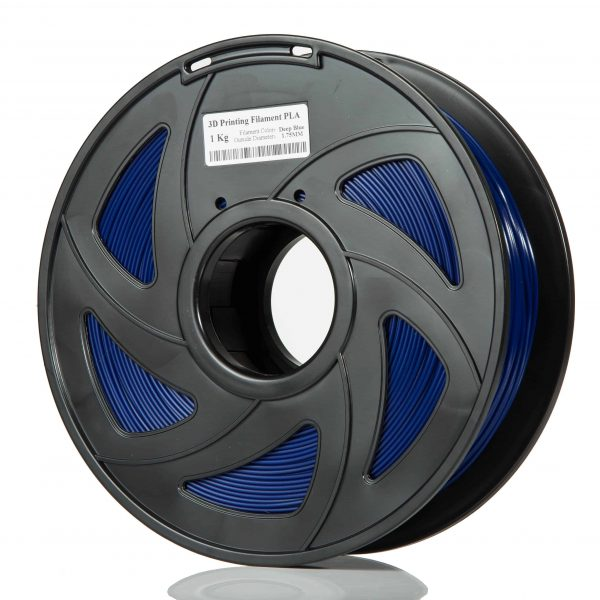 Deep Blue ABS scaled 3DPO ABS Filament (DEEP BLUE) 1KG 1.75MM