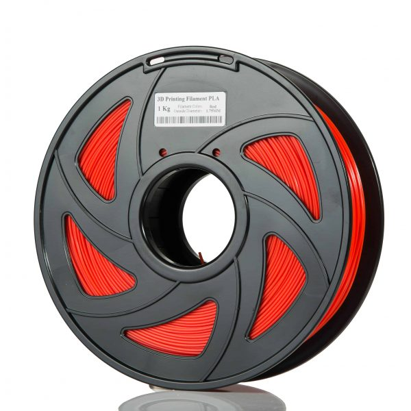 Red ABS scaled 3DPO ABS Filament (RED) 1KG 1.75MM