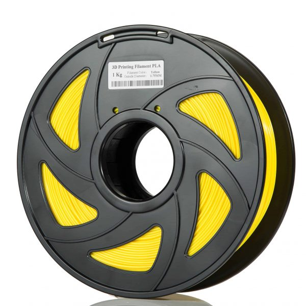 Yellow ABS scaled 3DPO ABS Filament (YELLOW) 1KG 1.75MM