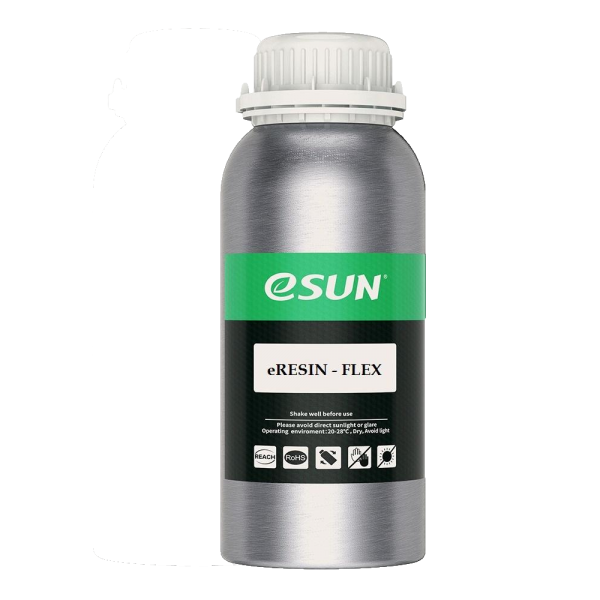 eSun - eResin Flex 500g - Transparent Yellow