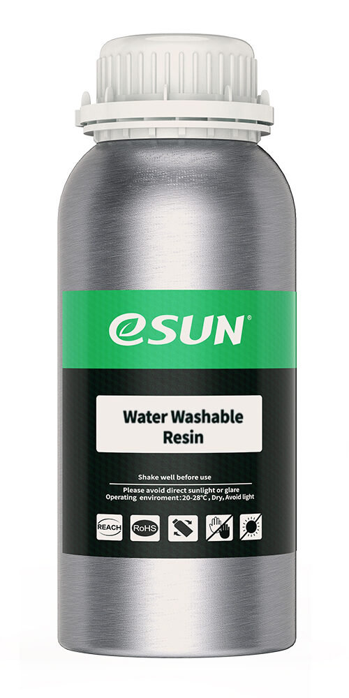 1 e1614144743422 eSun - Water-Washable Resin 500g - Light Grey