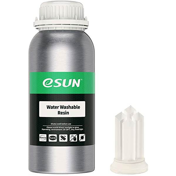 513f3nNf86L. AC UL600 SR600600 eSun - Water-Washable Resin 500g - Clear