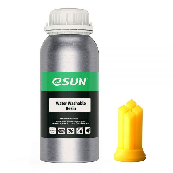 618448 069518 01 front zoom eSun - Water-Washable Resin 500g - Yellow