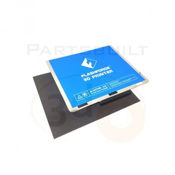 FLF Guider2s flexplate sys marked 13482.1598770703 Flashforge Guider 2S HT Magnetic Flex Build Plate