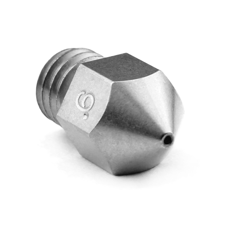 m2549 02 7 Micro Swiss - 0.6mm MK8 Plated Wear Resistant Nozzle (CR10 / Ender / Tornado / MakerBot)